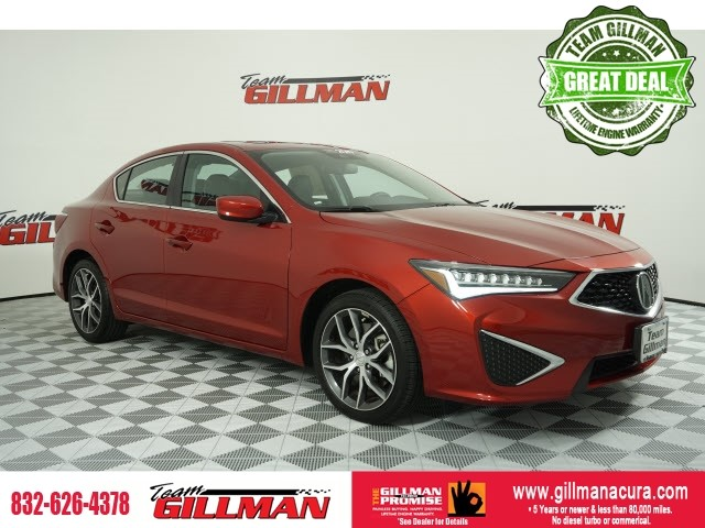 Pre-Owned 2019 Acura ILX Premium Package CERTIFIED WITH 100K