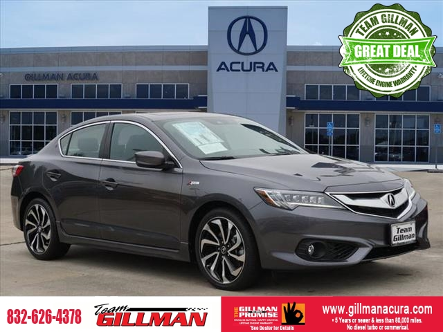 Pre-Owned 2018 Acura ILX w/Technology Plus/A-SPEC Pkg LEATHE