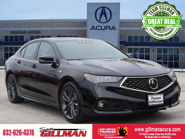 Pre-Owned 2019 Acura TLX w/A-SPEC Pkg LEATHER SUNROOF NAVIGA
