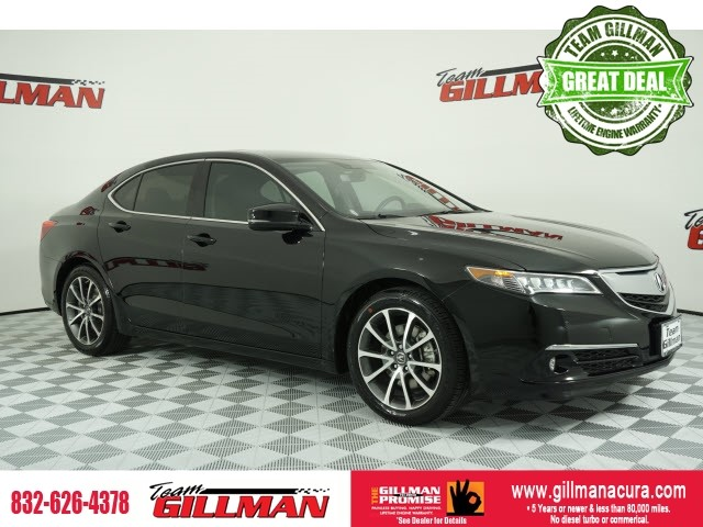Pre-Owned 2017 Acura TLX 3.5L V6 w/Advance Package