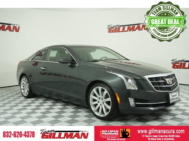Pre-Owned 2016 Cadillac ATS 3.6L Luxury COUPE