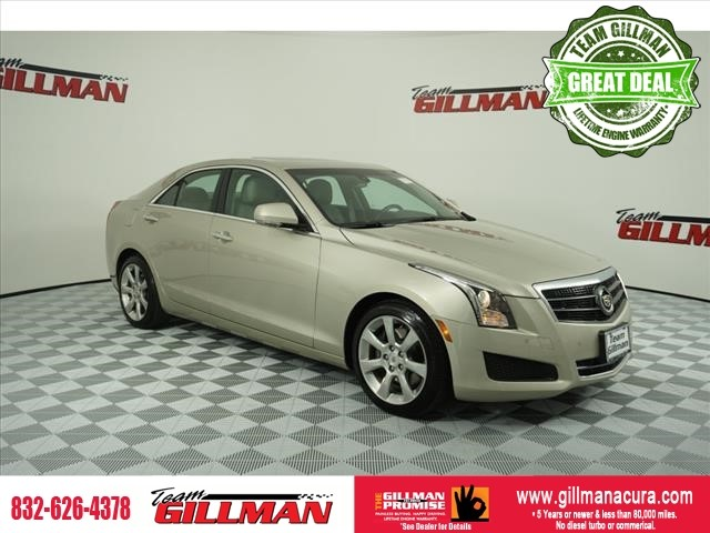 Pre-Owned 2014 Cadillac ATS Luxury RWD LEATHER NAVIGATION SUNRO