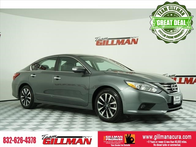 Pre-Owned 2016 Nissan Altima 2.5 SL LEATHER INTERIOR