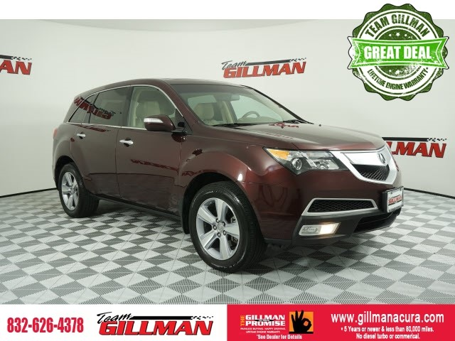 Pre-Owned 2013 Acura MDX Tech Pkg LEATHER NAVIGATION SYSTEM