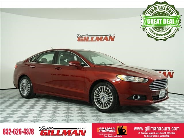 Pre-Owned 2015 Ford Fusion Titanium LEATHER SUNROOF