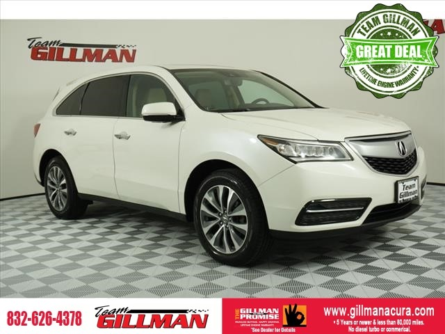 Pre-Owned 2016 Acura MDX w/Tech LEATHER SUNROOF NAVIGATION C