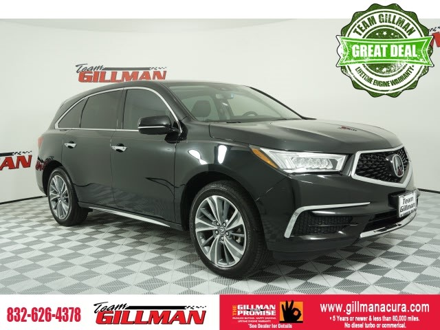 Pre-Owned 2017 Acura MDX 3.5L w/Technology Package NAVIGATIO