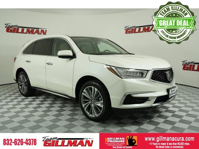 Pre-Owned 2017 Acura MDX 3.5L w/Technology Package CERTIFIED