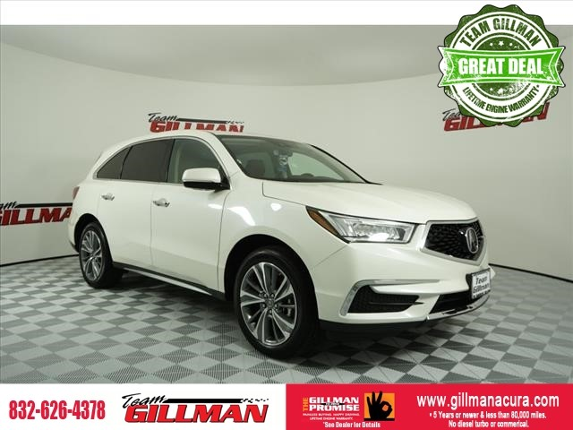 Pre-Owned 2017 Acura MDX w/Technology Pkg LEATHER INTERIOR N