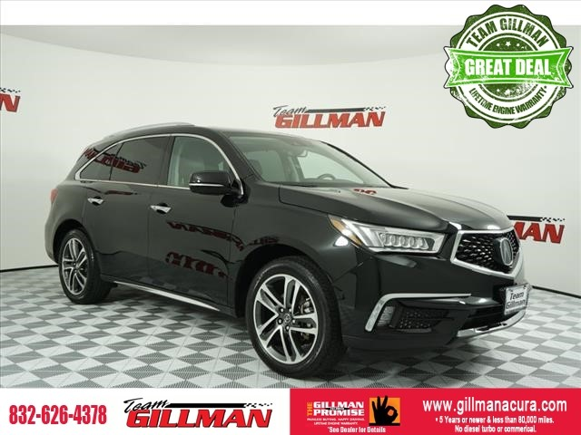 Pre-Owned 2017 Acura MDX w/Advance Pkg LEATHER INTERIOR SUNR
