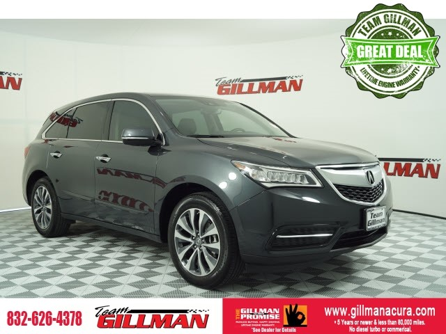Pre-Owned 2016 Acura MDX w/Tech LEATHER SUNROOF NAVIGATION S