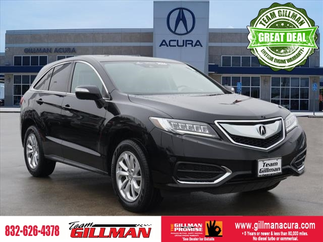 Pre-Owned 2016 Acura RDX AcuraWatch Plus Pkg CERTIFIED PRE-O