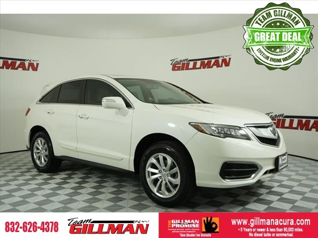 Pre-Owned 2016 Acura RDX Tech/AcuraWatch Plus Pkg LEATHER SU