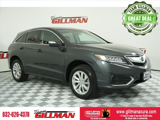 Pre-Owned 2016 Acura RDX Tech Pkg NAVIGATION SYSTEM LEATHER