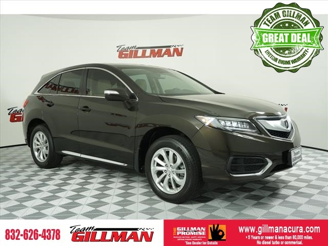Pre-Owned 2016 Acura RDX Tech Pkg LEATHER INTERIOR SUNROOF N