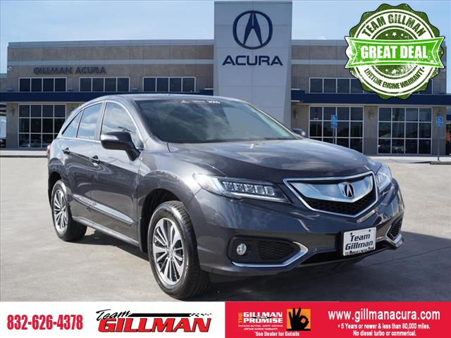 Pre-Owned 2016 Acura RDX ADVANCE PKG CERTIFIED FULLY LOADED
