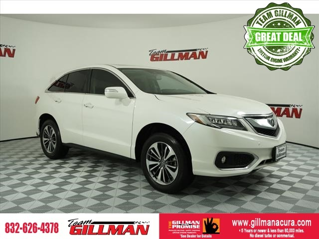 Pre-Owned 2017 Acura RDX w/Advance Pkg CERTIFIED FULLY LOADE