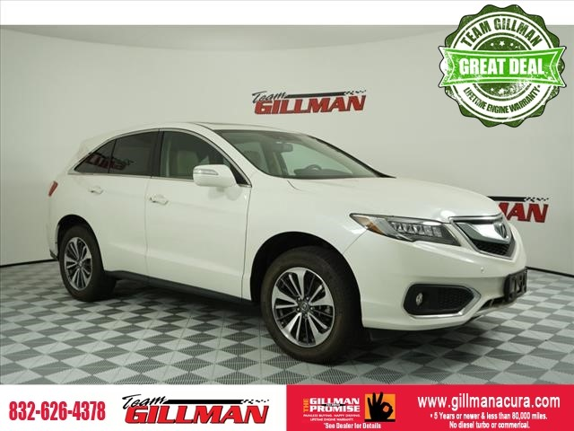 Pre-Owned 2016 Acura RDX Advance Pkg LEATHER SUNROOF NAVIGAT