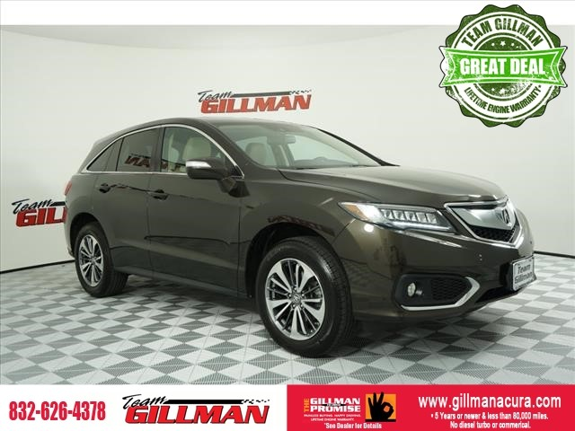 Pre-Owned 2016 Acura RDX Advance Pkg LEATHER INTERIOR SUNROO