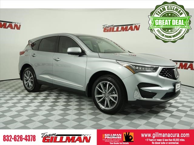 Pre-Owned 2019 Acura RDX w/Technology Pkg LEATHER PANOROOF C