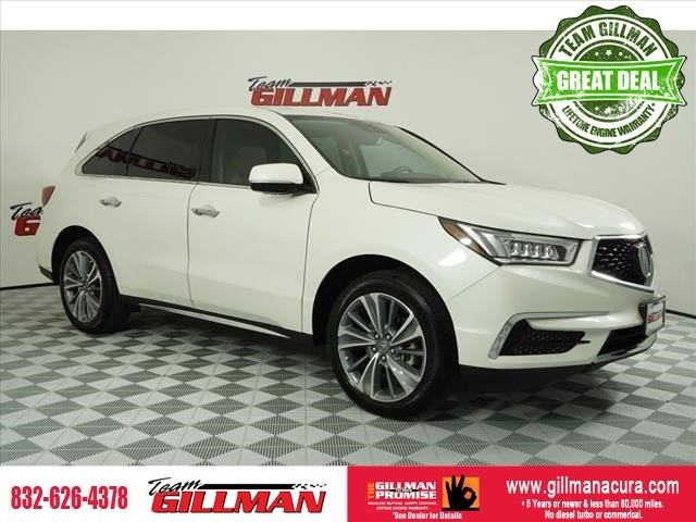Pre-Owned 2018 Acura MDX w/Technology Pkg LEATHER SUNROOF NA