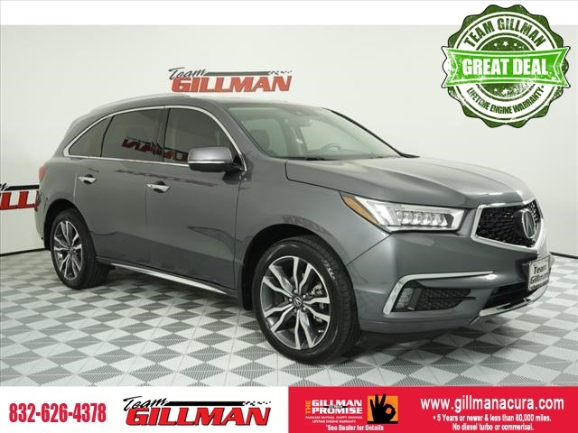 Certified Pre-Owned 2019 Acura MDX with Advance Package