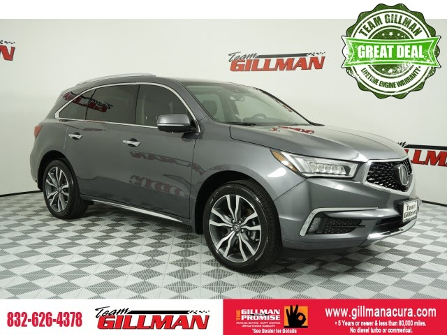Pre-Owned 2019 Acura MDX w/Advance Pkg LEATHER SUNROOF NAVIG