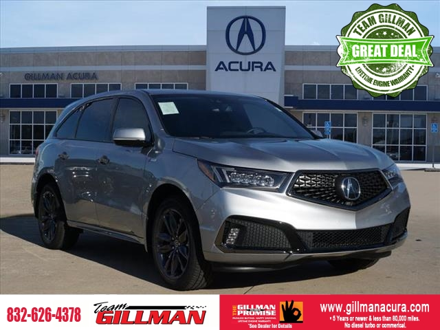 Pre-Owned 2019 Acura MDX 3.5L Technology Pkg w/A-Spec Pkg SH