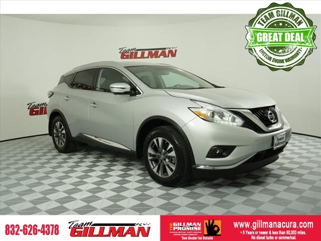 Pre-Owned 2017 Nissan Murano SL LEATHER SUNROOF BOSE AUDIO