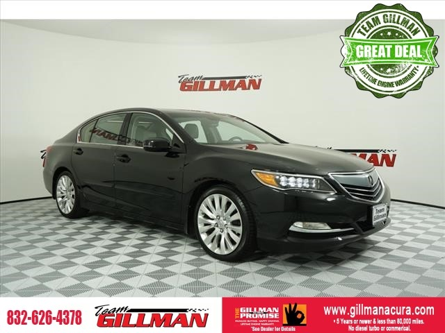 Pre-Owned 2014 Acura RLX Advance Pkg LEATHER INTERIOR SUNROO