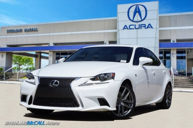 Pre-Owned 2016 Lexus IS 200t F SPORT NAVI SUNROOF HEATED COOLED LEATHER