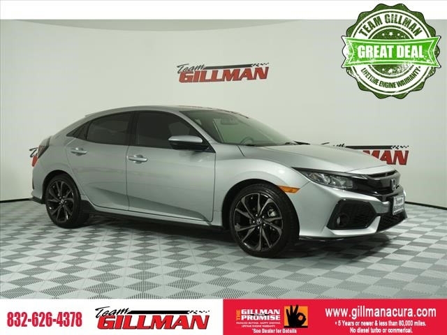 Pre-Owned 2018 Honda Civic Sport ALLOY WHEELS