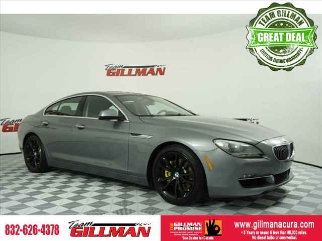 Pre-Owned 2014 BMW 6 Series 640i NAVIGATION PANO ROOF SPORT PAC