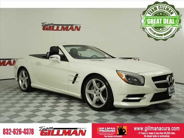 Pre-Owned 2013 Mercedes-Benz SL-Class SL 550 LEATHER NAVIGATION SUNROOF H
