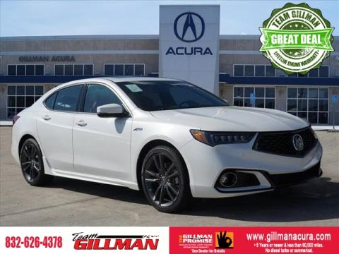 Pre-Owned 2019 Acura TLX w/A-SPEC Pkg Red Leather SUNROOF NA