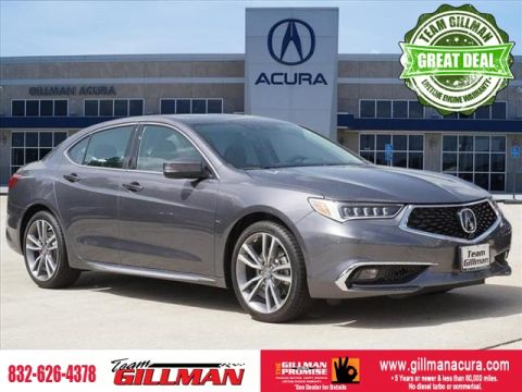 Pre-Owned 2019 Acura TLX w/Advance Pkg LEATHER INTERIOR SUNR