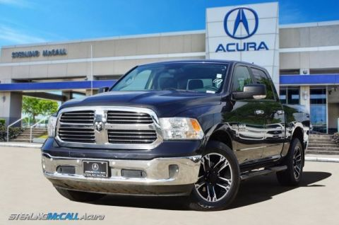Pre-Owned 2015 Ram 1500 Big Horn Crew Cab 4WD Loaded with NAV, Katzkin Leather, Luxury Group, 5.7L V-8 HEMI and more!