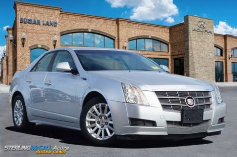Pre-Owned 2010 Cadillac CTS Sedan 4DR