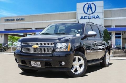 Pre-Owned 2014 Chevrolet Suburban LTZ * REAR DVD ENT, 2ND ROW CAPTAINS *