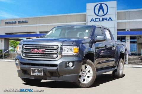 Pre-Owned 2017 GMC Canyon 2WD SLE 1-Owner ONLY 6K Miles! Tonneau Cover