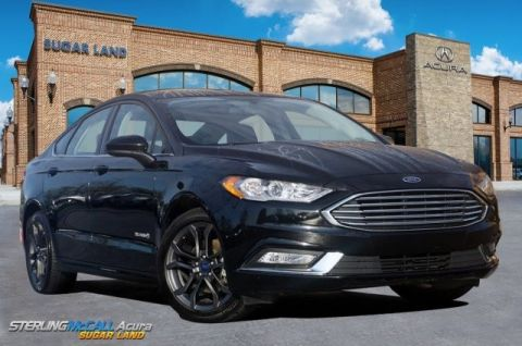 Pre-Owned 2018 Ford Fusion Hybrid SE *** LEATHER SEATS ***