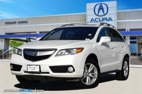 Pre-Owned 2013 Acura RDX AWD Tech Pkg NAVI SUNROOF HEATED LEATHER 1 OWNER LOW MILES