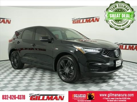 Pre-Owned 2019 Acura RDX w/A-Spec Pkg LEATHER INTERIOR PANOR