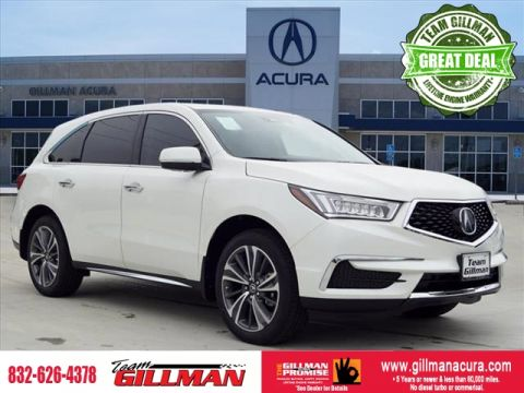 Pre-Owned 2019 Acura MDX w/Technology/Entertainment Pkg LEAT