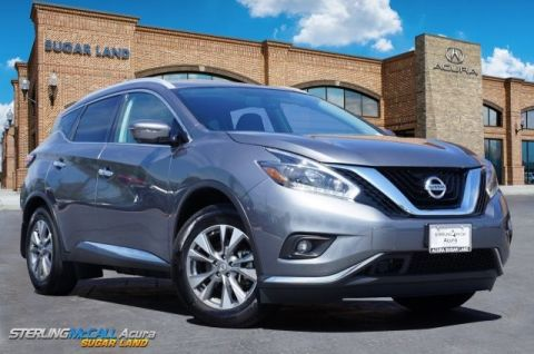 Pre-Owned 2018 Nissan Murano SL W/SUNROOF & NAVIGATION